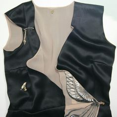 Studio of Laura Hîncu Reversible Dress, Bodysuit, Vest, Studio, Jackets, Tops, Dresses, Women, Fashion
