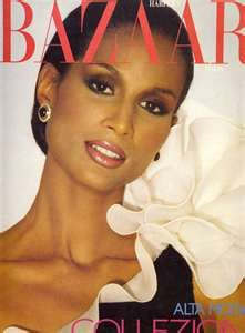 Beverly Johnson. Born 10/13/1952. African American model. Studied at Northeastern University shortly to pursue law. However, this did not fulfill, she is known for her groundbreaking vogue cover in August 1974 and by 1975 inspired use of other African Americans in modeling.