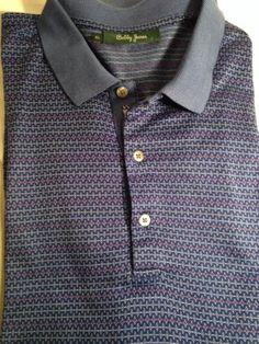 Mint Bobby Jones Polo Hokies Golf SS Shirt Mens XL Virginia Tech | eBay