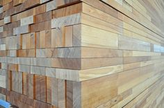 Vancouver convention center.. interesting play on materials. making it look like stacked wood