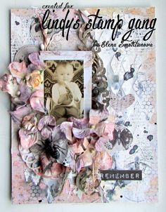 Mixed Media Canvas Lindy's Stamp Gang