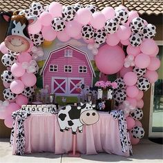 Rodeo Birthday Parties, Cowgirl Birthday, Birthday Party Favors, Farm Birthday, Birthday Balloons, Girl 2nd Birthday, Anniversary Party Decorations, Balloon Decorations Party, Girl Birthday Decorations