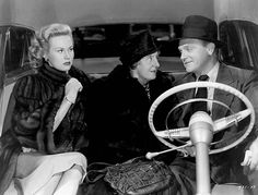 "WHITE HEAT 1949 ""Because no woman should come between a guy and his mother""...Verna's not happy to be girl #2 after Ma Jarrett...(  Virginia Mayo, Margaret Wycherly, and James Cagney)"
