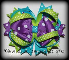 Large Boutique Spring Hairbow