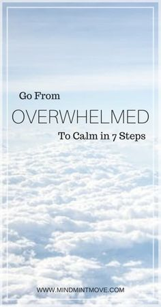 Go From Overwhelmed to Calm