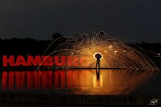 Steelwool Fun with ZOLAQ im Hamburger Stadtpark