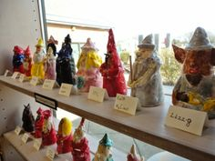 Clay Gnomes by 3rd Grade. Could do wizards trolls witches warlocks...what else is there?