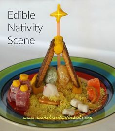 Share the Christmas story with the help of a few sweet treats. This Edible Nativity Scene is ideal to make with a group of children or indi...
