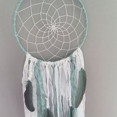 Hey, I found this really awesome Etsy listing at https://www.etsy.com/listing/253780825/mint-dream-catcher-dreamcatcher-dream