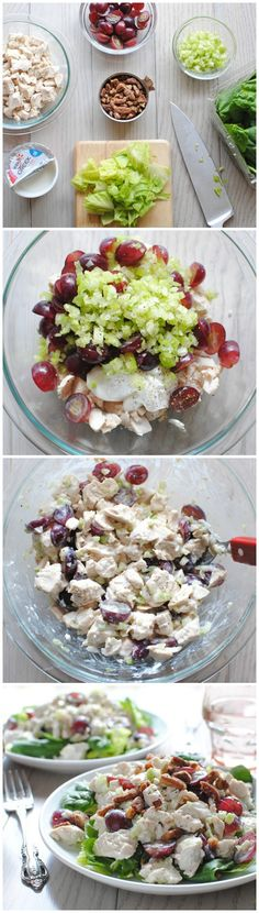 Greek Yogurt Chicken Salad #yoplait