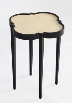 tini table IV quatrefoil - a classy way to represent Phi Mu