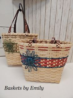'Maria' Tote from Baskets by Emily