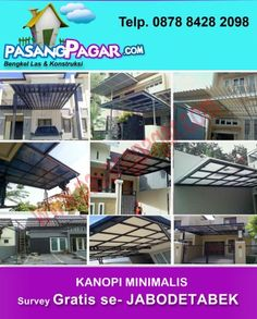Bengkel Las Pamulang Tlp/Wa 0878 8428 2098: BENGKEL LAS PAMULANG : KANOPI PAMULANG. TERALIS PA...