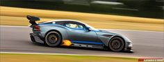 Aston Martin Vulcan | First Impression: Aston Martin Vulcan action shot