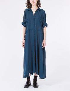 CREATURES OF COMFORT // Kelen Dress Wool Crepe