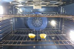 She Puts 2 Lemon Halves in the Oven. I Never Would Have Thought to Do This, But It's Pretty Smart!