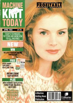 Machine Knit Today Magazine 1993.04 300dpi ClearScan OCR Free PDF Download