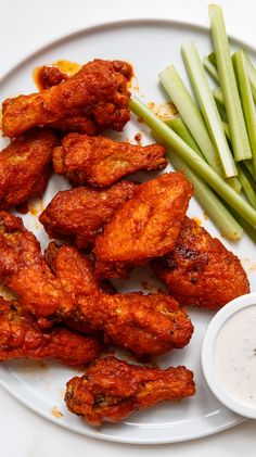 Our best buffalo wings recipe turns out extra-crisp wings in a spicy sauce, with plenty of blue cheese dressing for dipping.
