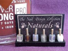 Nail Varnish Display - Naturals