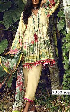 Online Indian and Pakistani dresses, Buy Pakistani shalwar kameez dresses and indian clothing. Pakistani Lawn Suits, Pakistani Dresses, Pakistani Designers, Shalwar Kameez, Indian Wear, Indian Outfits, Indian Fashion, Designer Dresses, Kimono Top