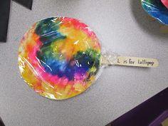 Mrs. Karen's Preschool Ideas; L is for lollipop