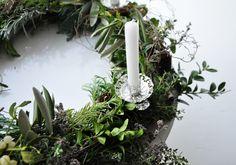 Wild Advent Wreath [with Garden Treasures]
