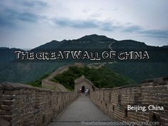 Visiting the Great Wall of China  http://www.thewholeworldisaplayground.com/great-wall-china/