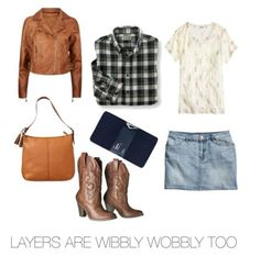 Doctor Who Inspired Fall Fashion - Amy Pond version - geek style