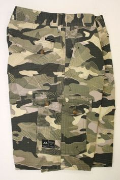 Oakley Tactical Olive Camo 799 441982X Foundation Cargo Shorts (Men's 34) 2324 #Oakley #Cargo