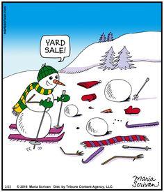 Today on Half Full - Comics by Maria Scrivan Christmas Jokes, Christmas Cartoons, Christmas Fun, Christmas Comics, Christmas Doodles, Xmas, Christmas Pictures, Christmas Cards, Cartoon Memes