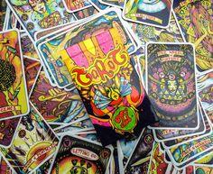 Custom Illusori Tarot Deck - 78 cards, Tarot Reading, Card Deck, Arcana, Divination, Pagan Cards, Oracle deck, Oracle, Tarot, Spiritual Gift by illusori on Etsy https://www.etsy.com/listing/263771589/custom-illusori-tarot-deck-78-cards
