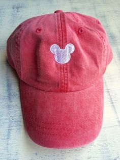 Monogrammed Mickey baseball hat, pigment dyed hat by CosyDesignscd on Etsy www. Disneyland Outfits, Disneyland Trip, Disney Outfits, Disney Trips, Disney Clothes, Disney Shirts, Cute Disney, Disney Style, Disney Hat