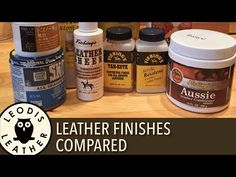 Leather Finishes Compared (40 mins HD) - YouTube