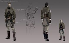 Galen Marek Starkiller Concept Art [The Force Unleashed]