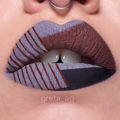 Ok this seriously requires more training but I don't think I did that bad! It took more than 1 hour, mainly to clean the lines. @colouredraine ❤️ of stone, tootsie and truffle raine @sigmabeauty line ace in legend For creating the lines I used a tense yarn which I dip into the colour and then press against the skin. For refining and applying the base I used my faithful @zoevacosmetics 317 wing