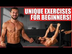CALISTHENICS FOR BEGINNERS: 10 Unique Exercises To Learn - YouTube Calisthenics At Home, Best Core Workouts, Muscle Up, Biceps Workout, Street Workout, Popular Videos, Diet Motivation, Fitness Nutrition, Excercise
