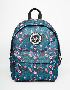 Hype Backpack in Floral Print