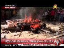 Protestan En Hato Mayor En Demanda De Terminación De Escuela #Video