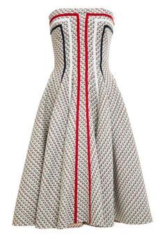 Thom Browne Paneled Tweed Jacquard Dress. Shop it and the 19 other prettiest dresses to welcome spring in.