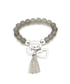 Charming Power Beaded Bracelet