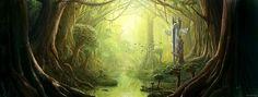 'Overgrown Forest' - Series for byxb [1/4] by DesignSpartan on DeviantArt