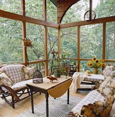 #Country Living #Dream Porch