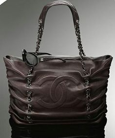 Chanel Purses | Chanel Large Lambskin Tote - Purses, Designer Handbags and Reviews at ...