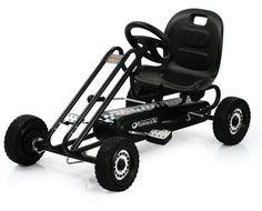 hauck TOYS FOR KIDS Go-Kart, »Lightning, Titan Black« für 139,99€. Kinderfahrzeug »Lightning Titan Black«, Ab 4 Jahren, Mit praktischer Handbremse bei OTTO