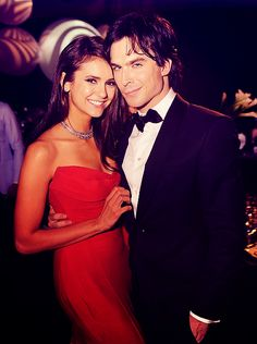 Nina Dobrev and Ian Somerhalder at the 2011 Emmys (hottest couple ever)!