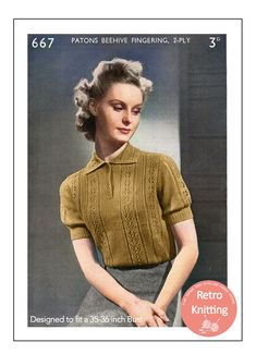 Pdf Sewing Patterns, Knitting Patterns, Summer Knitting, Vertical Stripes, 2 Ply, Vintage Knitting, Knit Crochet, Retro Vintage, Men Sweater