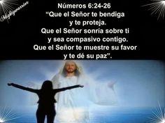 """JESUS PODEROSO GUERRERO: Numeros 6:24-26~~ """" Favor de Dios """""""