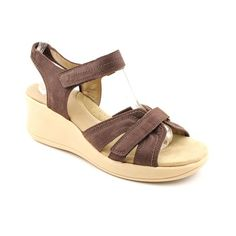 Easy Spirit Gaffney Wide Open Toe Wedge Sandals « ShoeAdd.com – More Shoes For You Every Day