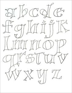 different lettering styles alphabet Hand Lettering Fonts, Doodle Lettering, Creative Lettering, Font Art, Lettering Ideas, Typography Fonts, Simple Lettering, Hand Drawn Fonts, Handwritten Fonts