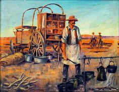 Cowboys and Chuckwagon Cooking : History of the Cobbler - The Cheerish Dessert of the Chuckwagon